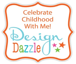 Celebrate Childhood with Design Dazzle button