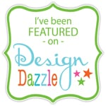 Featured on Design Dazzle button