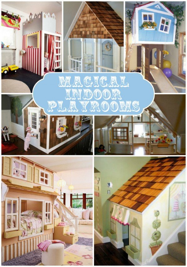 Inside Kids Playhouse