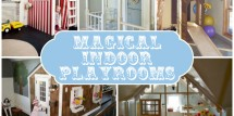 Magical indoor playrooms