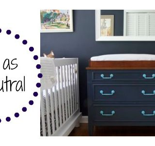 Kids Room: Navy as a Neutral