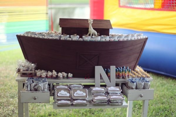 noahs ark birthday party
