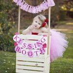 Kids Kissing Booth And Valentine Party