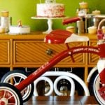 Red Tricycle Themed 1st Birthday Party