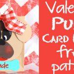 Puppy Valentine Card Holder – Free Pattern