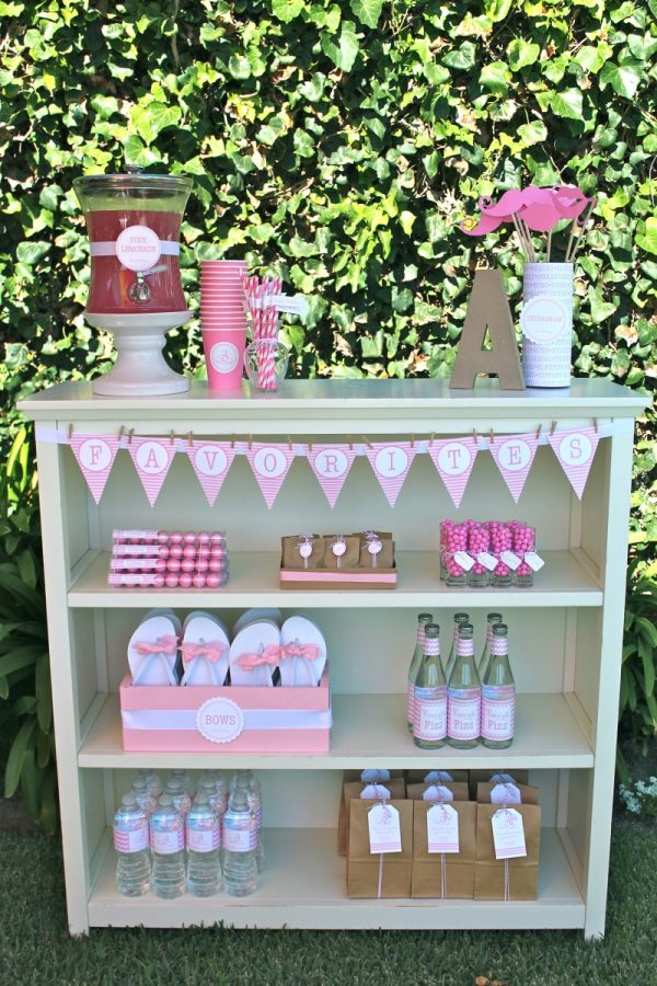 Favorite things party ideas for girls