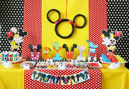 Disney Mickey Clubhouse Party Ideas