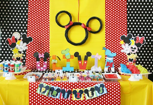 Mickey amp Minnie Mouse Party Ideas Design Dazzle