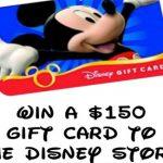 Disney, Disney, Disney and $150 Disney Gift Card Giveaway!
