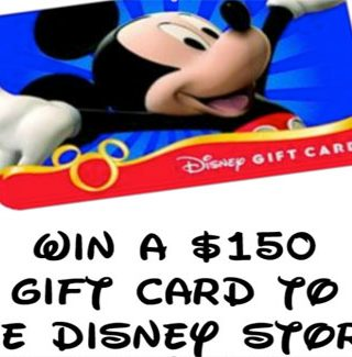 Disney, Disney, Disney and $150 Disney Gift Card Giveaway!