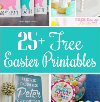 Fabulous Free Easter Printables