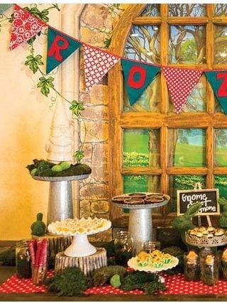 Gnome Birthday Party
