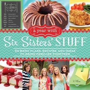 Six Sisters Cookbook - Design Dazzle