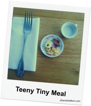 April Fool's Day teeny tiny meal