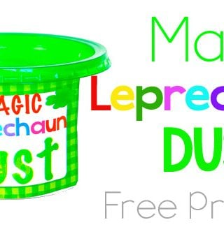 Magic Leprechaun Dust – Free Printable