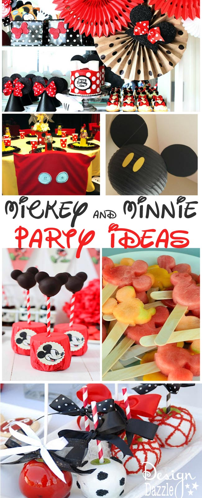 Mickey And Minnie Mouse Party Food Decor Ideas