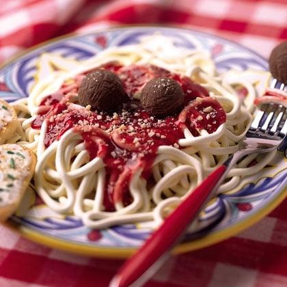 April Fool's Day prank ideas - fake spaghetti