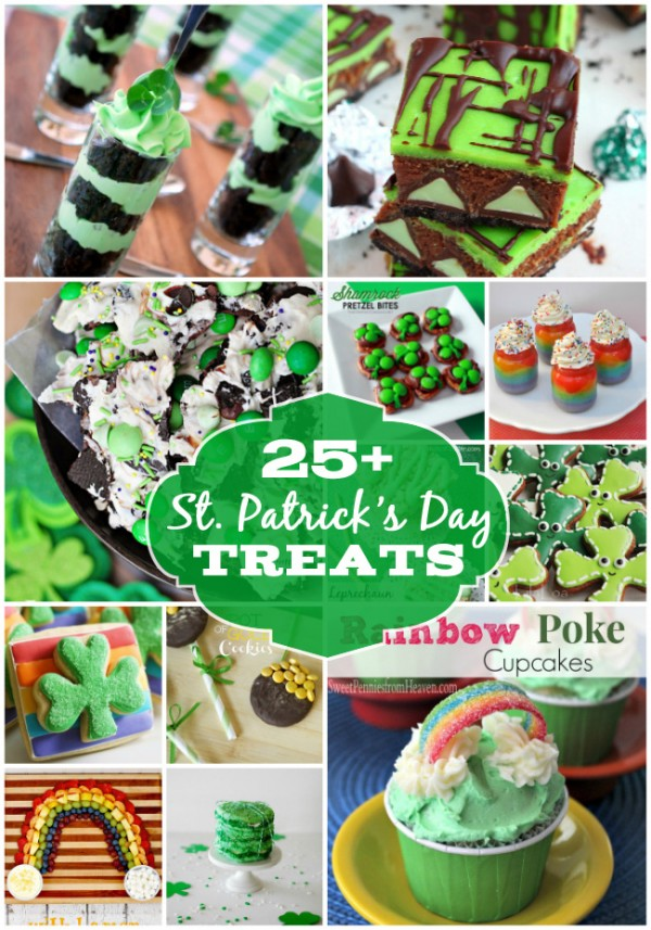 Over 25 Yummy St. Patrick's Day treats from around the web