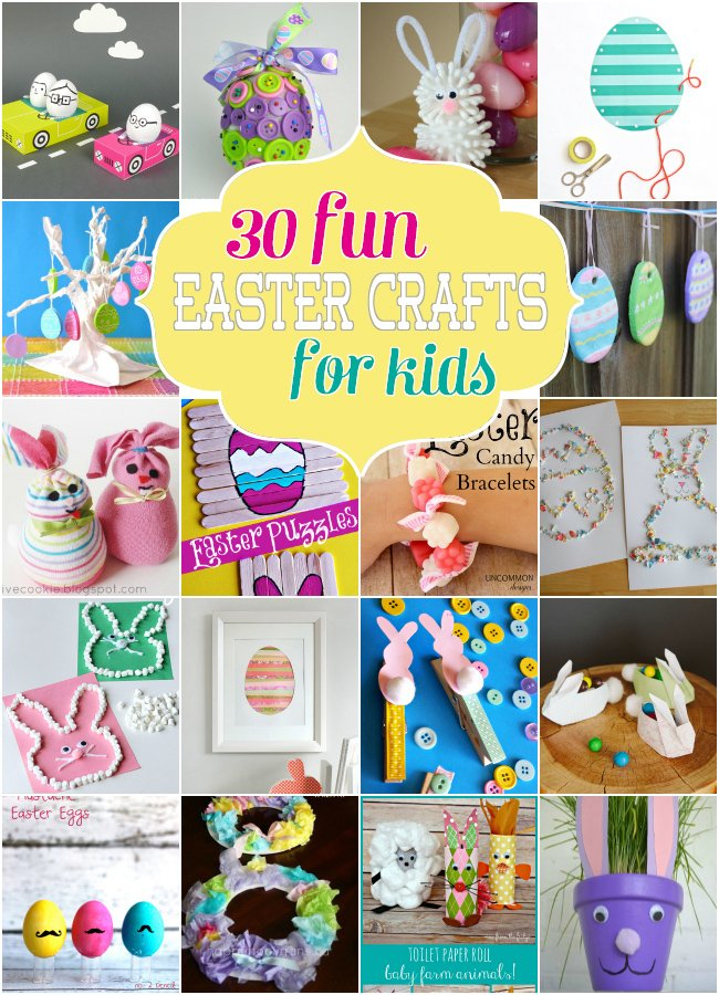 30 Fun Easter Crafts for Kids - Design Dazzle