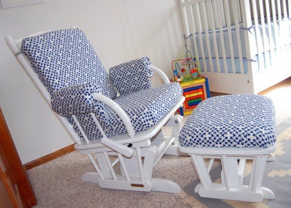 How To Recover A Nursery Glider Design Dazzle