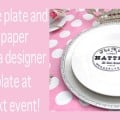 Dollar Store Plate Craft - Design Dazzle