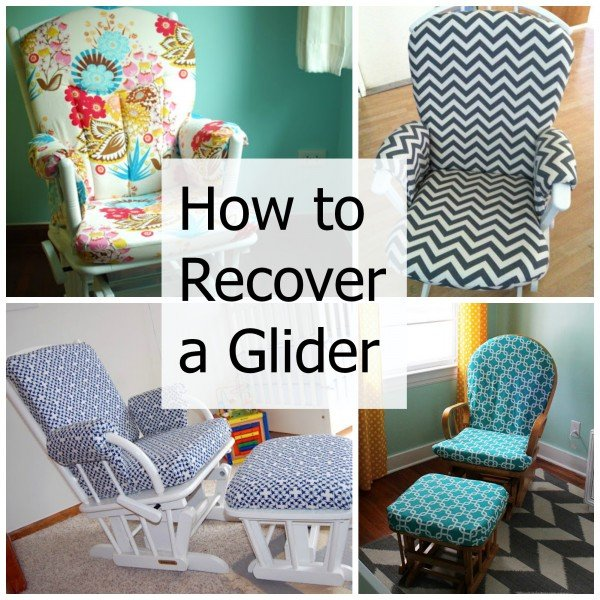 How to recover a nursery glider