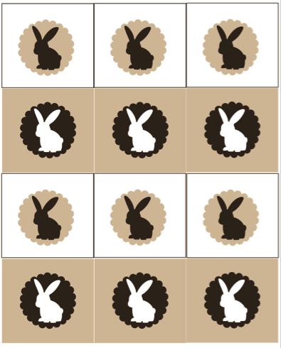 Free bunny printable - Design Dazzle