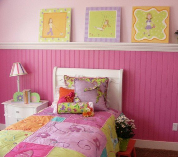 creative bead board use in kids rooms design dazzle