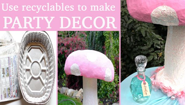 Make A Giant Mushroom Prop For Party Decor Design Dazzle