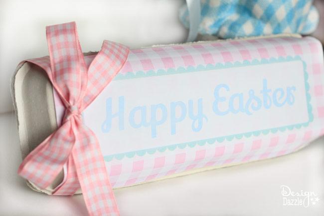 Easter Egg Carton free printable - Design Dazzle