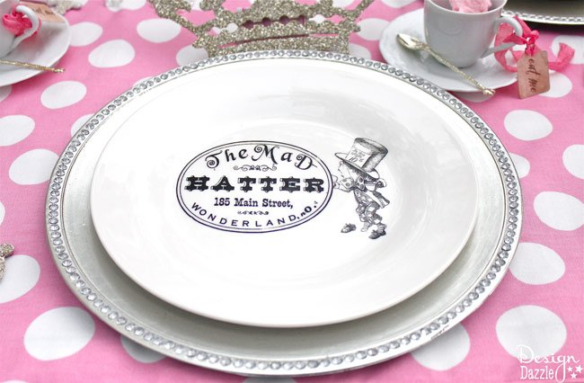 Dollar Store Plate and Special Paper Make A Designer Plate - Design ...