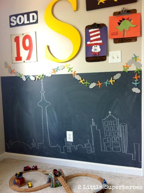 Kids Chalkboard Wall Design Dazzle