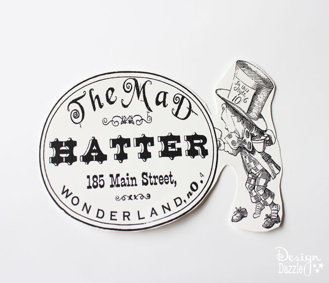 Dollar Store Plate and Special Printer Paper Make For a Designer Plate - Design Dazzle