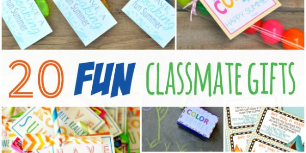 20 Fun End of School Year Classmate Gifts featured image