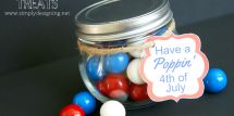 4th of July Treat Jar