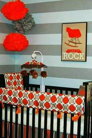 Brown, Orange & Grey Nursery