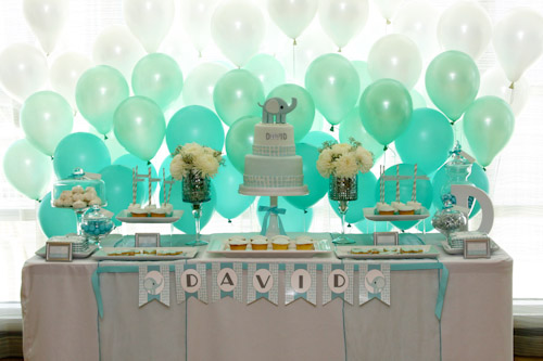 Balloon Dessert Table Backdrop