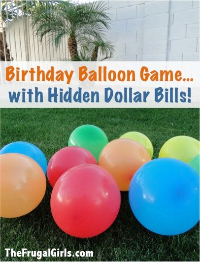 Creative ways to use balloons for kids parties design dazzle for Balloon party games