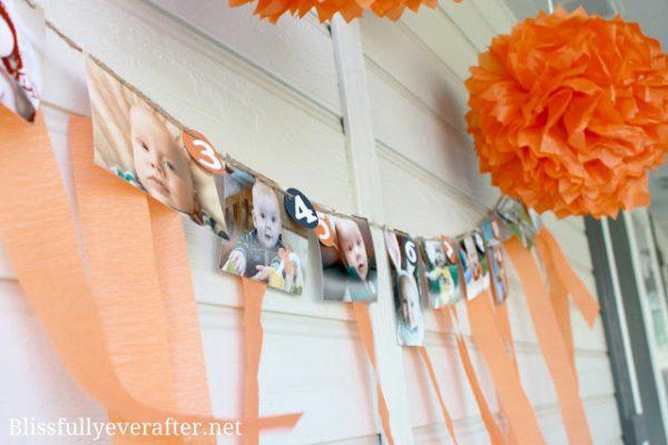 Photo Birthday Banner