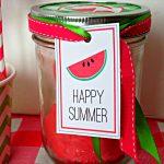 Happy Summer Watermelon Play Dough