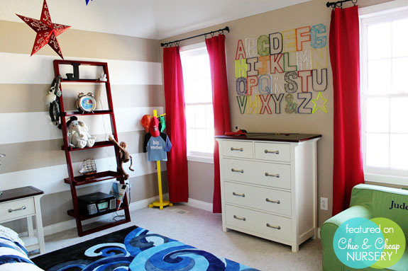 Toddler Boy Bed Ideas: Alphabet Themed Rooms For Kids