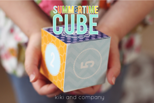 Love this Summertime Cube from Kiki and Company!
