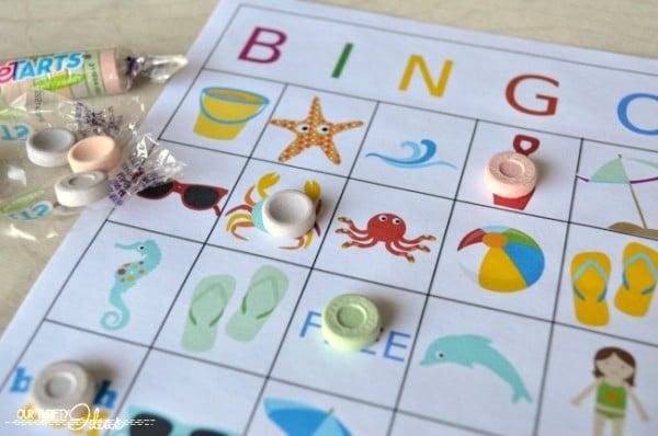 Summertime BINGO printable game