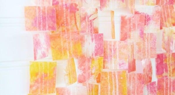 wax-paper-crayon-art