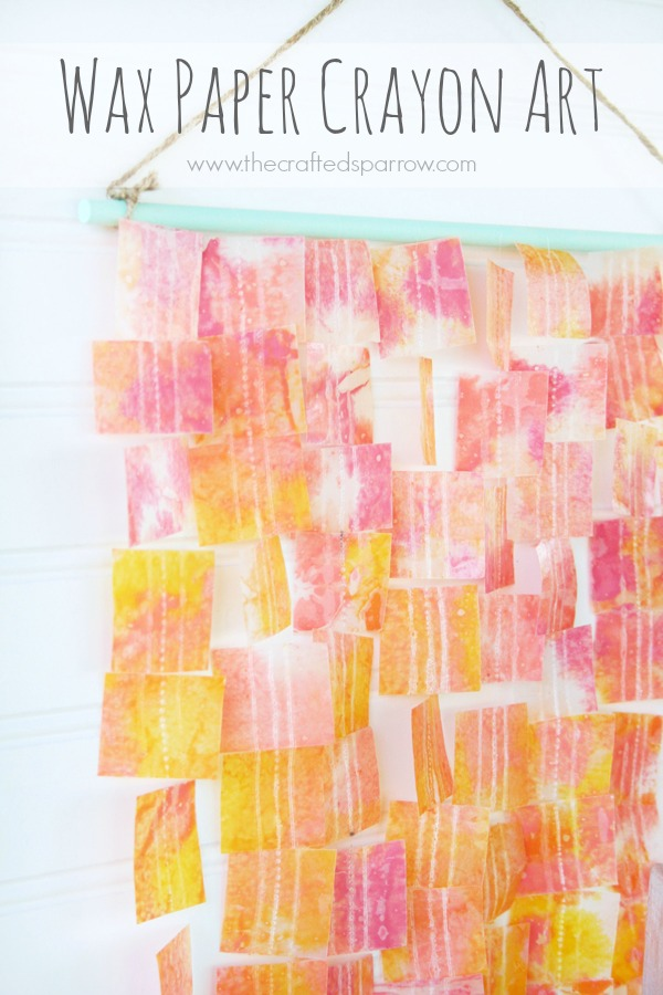Wax Paper Crayon Art Design Dazzle