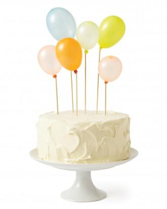 Water Balloon Cake Topper