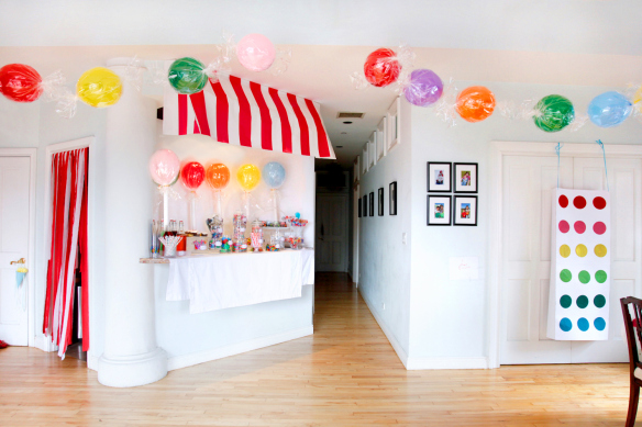 Candy and lollipop balloons