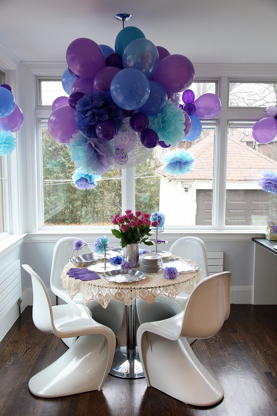 Украшенная комната на день рождения мужчине 6 фотография