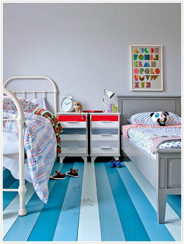 15 fun floor ideas for kids rooms - Design Dazzle