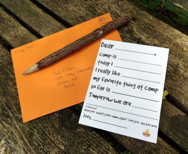 camp letter